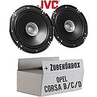1 DIN Radioeinbauset Kit passend für Opel Corsa C X01 2000-2004 aluminium ISO