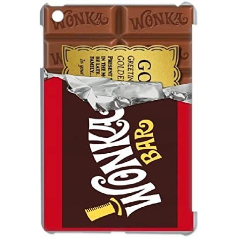 iPad Mini Case Cover White Willy Wonka Golden Ticket Chocolate Bar Custom Cell Phone Case 25P581886