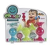 Fat Brain Toys Pip Squigz Greiflinge Set mit Saugnapf und Geräuschen
