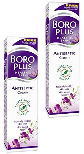 EMAMI Boro Plus Antiseptische Creme 80ml (2Stück) (Wunde Rissige Lippen)