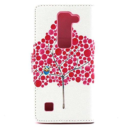 Voguecase® Pour Apple iPhone 6/6s 4,7 Coque, Etui Housse Cuir Portefeuille Case Cover (dream/plume 01)de Gratuit stylet l'écran aléatoire universelle Maple 01