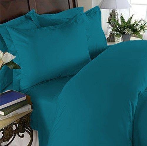 Eleganten Komfort 1500Fadenzahl Luxus ägyptische Qualität Super Soft knitterfreie und farbbeständig 4er Set Tabelle Full Türkis