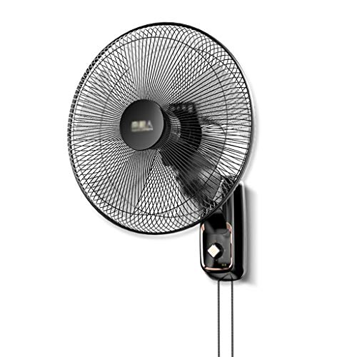 XUZg-Fan Wandventilator, Schule Restaurant Industrie kopfschütteln wandventilator Haushalt Schlafzimmer elektrische Ventilator (Color : A, Size : 1.5M Power Cord) - Lücke Kordelzug
