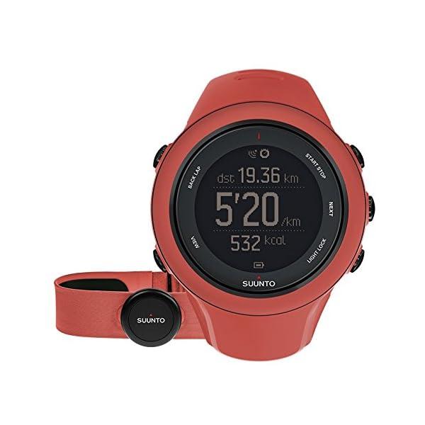 Suunto Ambit3 Sport Coral – Reloj de entrenamiento GPS, color coral