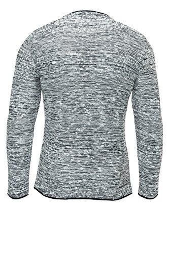 Carisma Herren Strickpullover Pullover Sweater Strickmode Grau