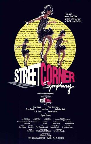 Angolo di strada Symphony poster Broadway 11x