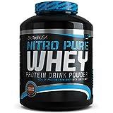 Biotech USA 10004010610 Nitro Pure Whey Protéine Saveur Cerise-Yaourt