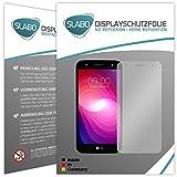 4 x Slabo Displayschutzfolie für LG X Power 2 Displayfolie Schutzfolie Folie Zubehör (verkleinerte Folien, aufgrund der Wölbung des Displays)