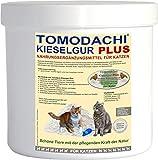 Kieselerde Plus Biotin Naturprodukt für Katzen, unterstützt Haut, Fell, Krallen und Gelenke, Nahrungsergänzungsmittel , besonders reich an Silizium - schöne Haut, glänzendes Fell, für Knochen, Zähne, Sehnen und Krallen, Tomodachi Kieselgur Plus Biotin 500ml Dose