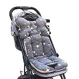 souart™ Universal Kinderwagen Sitzauflage Baumwolle Wasserdichte atmungsaktiv Sitzeinlage für Baby Kinderwagen Buggy 35x78 cm