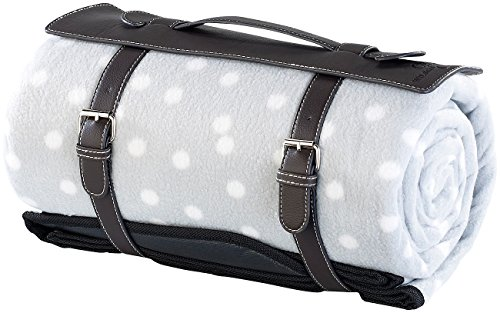 Wilson Gabor Isolierdecken: Wasserabweisende Fleece-Picknick-Decke, 175 x 200 cm (Picknickdecke wasserabweisend) - Wilson Decke