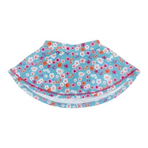 Banz Damen Badeanzug Mehrfarbig rosa/weiß Gr. 8 Jahre, Flowers