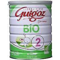 Guigoz Bio 2 Optipro Dès 6 Mois Lait Infantile en Poudre de 6 à 12 Mois 800 g - Lot de 3