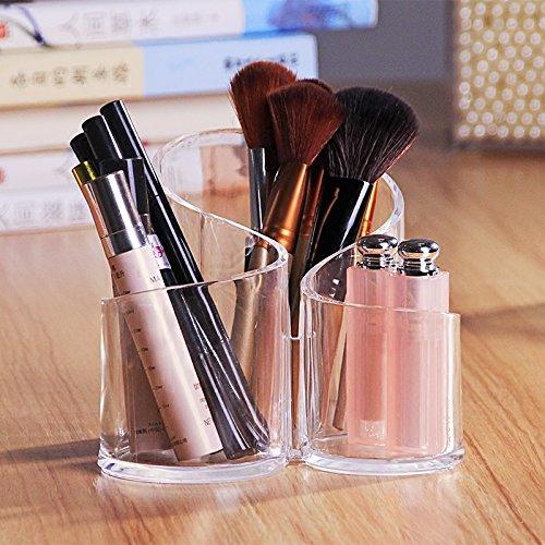 ShopAIS Cosmetic Make up Clear Acrylic Lipstick Organizer