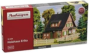Auhagen - 12259 - Modélisme Ferroviaire - Bâtiment - Maison De Bois Erika