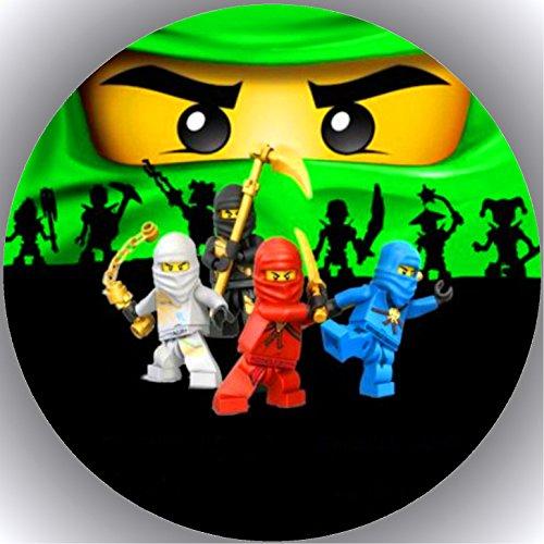 er Tortenbild Geburtstag Ninjago T19 ()