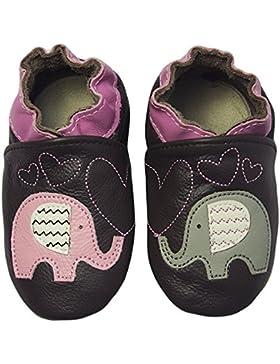 Rose & Chocolat RCC Elephant Kiss Baby Mädchen Krabbelschuhe & Puschen Hausschuhe