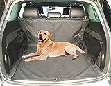 Hundedecke Auto iglatt Wasserdicht Kofferraumschutz Hunde Rutschfest Kofferraumdecke mit Seitenschutz, Autoschondecke für Hunde und Verschiedenes, Schützt Auto Suv vor Kratzern, Schmutz und Tierhaaren 155 x 104 x 33 cm
