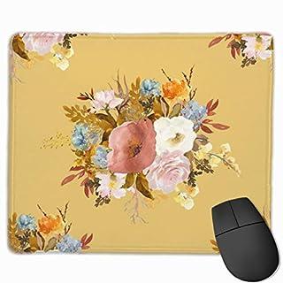 Autumn Love - Saffron_75461 Mouse pad Custom Gaming Mousepad Nonslip Rubber Backing 9.8