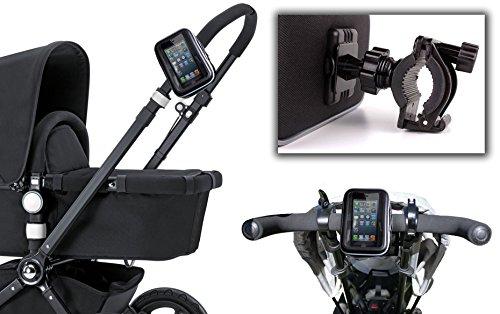 DURAGADGET Supporto | Montaggio di Smartphone - S - per Passeggino | Carrozzine | Bici - Alta qualità - Impermeabile!