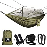 Best Camping Hammocks - Anyoo Camping Hammock with Mosquito Net Nylon Parachute Review