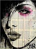 Posterlounge Alu Dibond 30 x 40 cm: aus schlimmen Träumen von Loui Jover