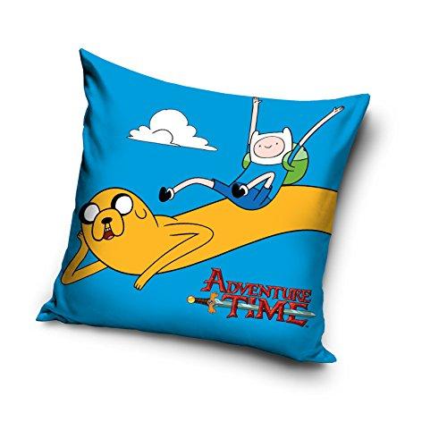 Adventure Time 100% cotone decorativo Cuscino federa Home Decor blu Finn e (Adventure Time Cuscino)