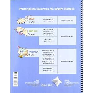 Letrak Dantzan: PANTAILA - Koadernoa 1: Irakurketa eta idazketa