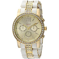 TKO ORLOGI Women's TK651WT Analog Display Quartz White Watch