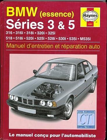 BMW série 3 et série 5 de 1981 à 1993 essence