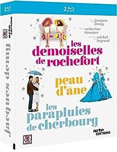 Jacques Demy - Les demoiselles de Rochefort + Peau d'Âne + Les parapluies de Cherbourg [Blu-ray]