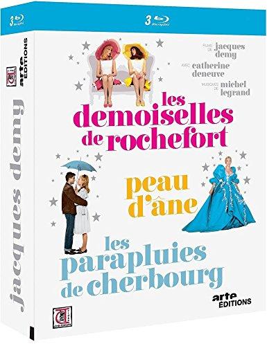Jacques Demy : Les demoiselles de Rochefort + Peau d'Âne + Les parapluies de Cherbourg [Blu-ray]