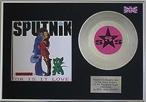 Sigue Sigue Spoutnik–17,8cm Platine disque + Housse–dancerama