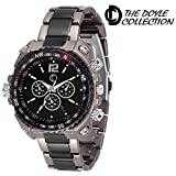 The Doyle Collection Analog Black Dial M...