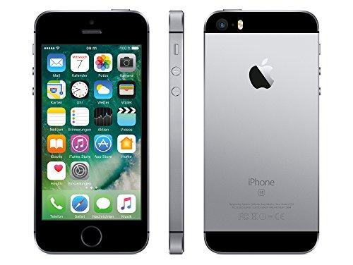 51xyimHI2%2BL - Apple iPhone SE - 16GB - Space Grau (Ohne Simlock) TOP HANDY NEUWARE BULK WOW