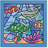 Melissa & Doug 18582 Ocean made Easy Stained Glass