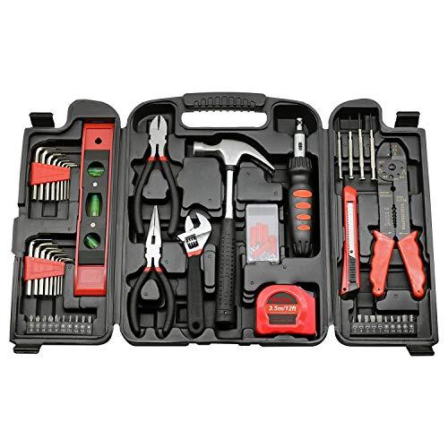 129 Heimreparaturset für die Heimpflege, sehr einfach zu bedienendes Heimreparaturset?Heimwerkzeug-Set, Komplettes Heimwerkzeug-Set Und Handwerkzeuge Heimwerker-Zubehör-Set