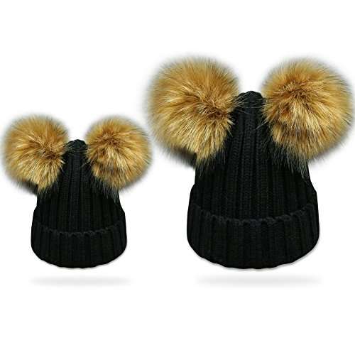 8870aa6ff21 2PCS Parent-child Hat Warmer