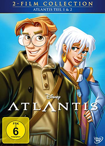 Atlantis 2-Film Collection (Disney Classics, 2 Discs)