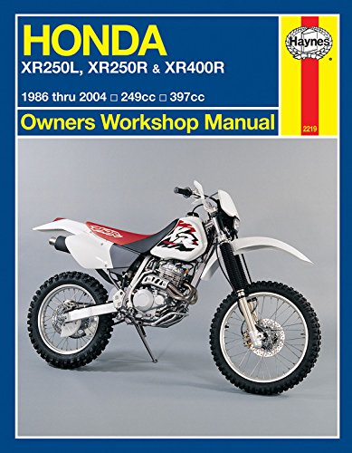 Honda XR250L, XR250R & XR400R (86 - 04) (Haynes Owners Workshop Manual)