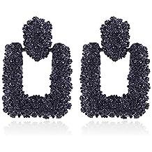 bbe52cb44f20 Pendientes grandes geométricos para mujer