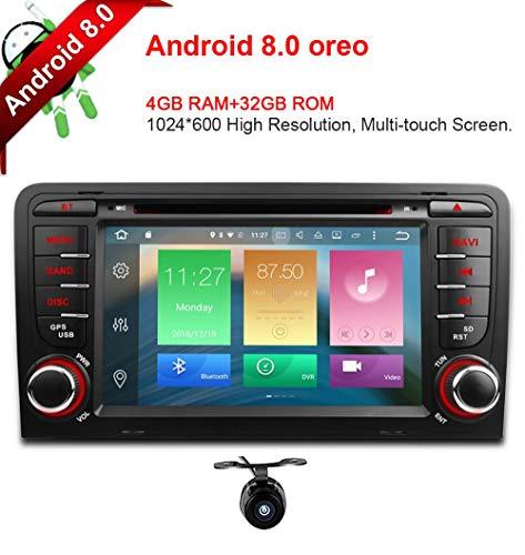 Freeauto Audi, A3, S3, 7 pulgadas, Android 8.0, pantalla