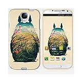 Coque Galaxy S4 de chez Skinkin - Design original : Totoro par Victor's Beard
