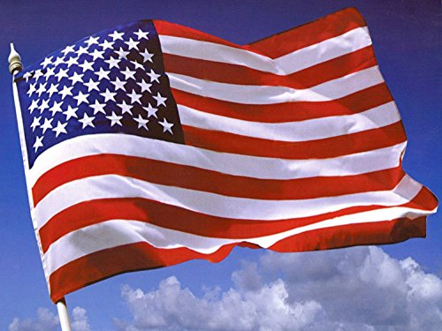 Newin Star Bandera de Estados Unidos,Bandera Grande 150×90cm(Impermeable y no se Descolora)