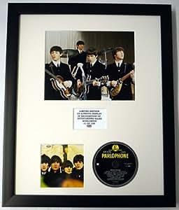 THE BEATLES/CADRE CD ET PHOTO/EDITION LIMITEE DE L'ALBUM/BEATLES FOR SALE