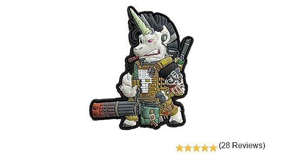 /Tactical Unicorn Patch/ /Mystic Warriors Glow in Dark thunderh Hybrid/