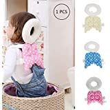 Orpio (Lable) Cotton Baby Head Protector Baby Toddlers Head Safety Pad Cushion Baby Back Protection Prevent Toddlers Injured (Multicolour)