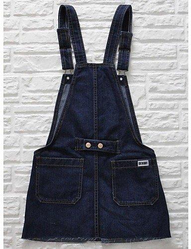 GSP-Pantalon Aux femmes Décontracté / Mignon / Grandes Tailles Coton / Toile de jean blue-xl