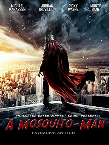A Mosquito Man Cover