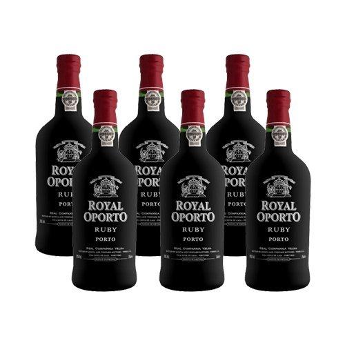 Portwein Royal Oporto Ruby - Dessertwein- 6 Flaschen
